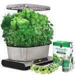 Miracle-Gro-AeroGarden-Harvest-Elite-with-Gourmet-Herb-Seed-Pod-Kit-Stainless-Steel-0