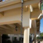 Monarch-International-Aluminum-Ring-Rain-Chain-85-Feet-Black-0-1