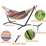 Ohuhu-Double-Hammock-With-Space-Saving-Steel-Stand-Includes-Portable-Carrying-Case-0-0