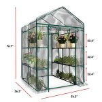 Plant-Large-Walk-in-Greenhouse-with-Clear-Cover-12-Shelves-Stands-3-Tiers-Racks-Herb-and-Flower-Garden-Green-House-0-0