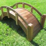 SamsGazebos-Miniature-Japanese-Wood-Garden-Bridge-Treated-Assembled-25-Long-X-11-Tall-X-11-12-Wide-Made-in-USA-0-0