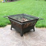 Sunnydaze-32-Inch-Square-Northern-Galaxy-Fire-Pit-with-Cooking-Grate-and-Spark-Screen-0-1