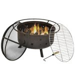 Sunnydaze-Cosmic-Fire-Pit-with-Cooking-Grill-Size-Options-Available-0-0