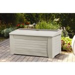 127-Gallon-Light-Taupe-Resin-Storage-Seat-Deck-Box-Can-be-Used-to-Store-Patio-Furniture-Cushions-Yard-Gear-and-More-A-Good-Choice-for-Pool-or-Gardening-Equipment-Easy-Tool-Free-Assembly-0