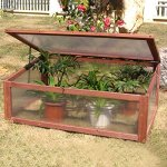 AK-Energy-Garden-Portable-Wooden-Mini-Green-House-Cold-Frame-Raised-Plants-Bed-Protection-Adjust-Hinge-0-0