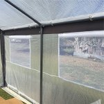 Abba-Patio-Cover-Canopy-Replacement-for-8-x-10-Feet-Large-Walk-in-Greenhouse-White-Frame-not-Include-0-2