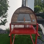 Authentic-Pizza-Ovens-Maximus-Red-Handmade-Wood-Fire-Oven-0-1