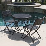 Belleze-Folding-Table-Chair-Bistro-Set-Rattan-Wicker-Outdoor-Furniture-Seats-Resin-3-PC-0-0