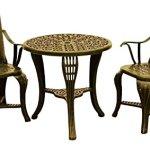 CC-Outdoor-Living-3-Piece-Sturdy-Bronze-Colored-Scroll-Design-Bistro-Set-0