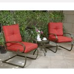 Cloud-Mountain-Bistro-Table-Set-Outdoor-Bistro-Set-Patio-Cafe-Furniture-Seat-Wrought-Iron-Bistro-Set-Garden-Set-with-Cushioned-Seats-Brick-Red-0