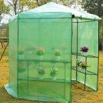 GHP-Dark-Green-785-x-825H-Greenhouse-w-Powder-Coated-Steel-Frame-0-2