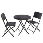Giantex-3PC-Folding-Round-Table-Chair-Bistro-Set-Rattan-Wicker-Outdoor-Furniture-0