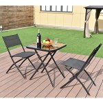 Heaven-Tvcz-3PC-Set-Garden-Folding-Black-Square-Table-And-Chair-Suit-Bistro-Outdoor-Patio-Backyard-For-Outdoor-Garden-Patio-And-Pool-Side-0-0