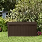 Keter-Borneo-110-Gal-Plastic-Outdoor-Patio-Storage-Container-Deck-Box-Garden-Bench-Brown-0-2