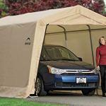 ShelterLogic-Peak-Style-AutoShelter-Sandstone-10-x-20-x-8-ft-0-1