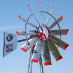 18-COMMERICAL-GRADE-POND-AERATION-WINDMILL-AERATOR-WIND-MILL-0