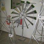 18-Ft-Made-in-the-USA-Premium-Aluminum-Decorative-Garden-Windmill-red-Trim-0