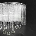 60W-G9-Iron-Wall-Light-with-Fabric-Shade-and-Crystal-Chains-BBB-0