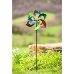 Evergreen-Oasis-Outdoor-Safe-Kinetic-Wind-Spinning-Topper-Pole-Sold-Separately-0-0