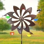 Exhart-Ferris-Feeder-Bird-Feeder-Wheel-Statue-BackyardOutdoor-Garden-0-0