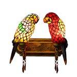 FUMAT-Tiffany-Mirror-Front-Light-Parrot-2-Heads-Wall-Lighting-Stained-Glass-E26-LEDWall-Lamp-110V-Retro-Bedside-Wall-Light-Bird-Passage-Wall-Lights-0