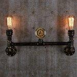 Injuicy-Lighting-Retro-Clock-Industrial-Vintage-Edison-Rusty-Loft-Wall-Light-Waterpipe-Lamp-Cafe-0