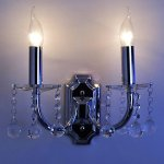 K9-Crystal-Wall-Light-with-2-Lights-Candle-Style-0