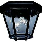 Kichler-9850BK-Madison-Cast-Aluminum-Outdoor-Ceiling-Lighting-120-Total-Watts-Black-Painted-0-0