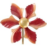 Kinetic-Wind-Spinner-Metal-Garden-Spinweel-12Diamx48H-Ruffled-Flower-Regal-Art-05234-0-1