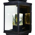 Maxim-Lighting-53526CLGBZ-Mandeville-Outdoor-Wall-Mount-LED-2-Light-Lantern-0