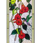 Mexicolour-Humming-bird-Stained-Glass-Leaded-Tiffany-Style-Garden-Home-Window-Panel-Handcrafted-Sun-Catcher-0-2