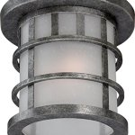 Nuvo-Lighting-Manor-Industrial-Large-1-Light-Wall-Lantern-100-watt-A19-Outdoor-Porch-and-Patio-Lighting-Frosted-Seed-Glass-0