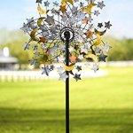 Plow-Hearth-54322-Celestial-Confetti-Garden-Wind-Spinner-0-0