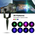 Premium-Outdoor-Waterproof-Laser-Projector-Light-Moving-RGB-20-Patterns-with-RF-Remote-Control-Timer-Perfect-for-Lawn-Party-Garden-Decoration-0-0