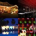 Projector-Lights-Garden-Laser-Light-MINO-ANT-Outdoor-Laser-Landscape-Star-Shower-Projector-Lights-with-RF-Remote-for-Holiday-Party-Landscape-Graduation-Decoration-FDA-Approved-All-Aluminum-0-2