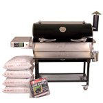REC-TEC-Grills-Bull-RT-700-Bundle-WiFi-Enabled-Portable-Wood-Pellet-Grill-Built-in-Meat-Probes-Stainless-Steel-40lb-Hopper-6-Year-Warranty-Hotflash-Ceramic-Ignition-System-0
