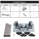 Refrigerator-Pedestals-with-360-Degree-Casters-Movable-Base-Frame-Refrigerator-Wheel-Bracket-Base-StandDollyRoller-For-Washing-MachineDryerRefrigeratorCabinet-0-1