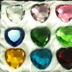 Sapphire-Amber-Emerald-Crystal-Heart-Diamond-Set-of-12-40mm-0