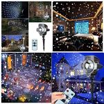 Snowfall-Light-Projector-AVEKI-Rotating-Waterproof-White-Snowflake-Fairy-Landscape-Projection-Lights-with-Wireless-Remote-for-Outdoor-Wedding-Christmas-Halloween-Holiday-Outside-Decoration-0-0