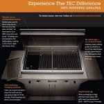 TEC-Patio-1-FR-Infrared-Grill-On-Black-Pedestal-with-Two-Side-Shelves-and-Warming-Rack-PFR1LPPEDS-PFR1WR-Propane-Gas-0-1