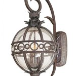 Troy-Lighting-Campanile-1-Light-Outdoor-Wall-Lantern-Campanile-Bronze-Finish-with-Clear-Seedy-Glass-0