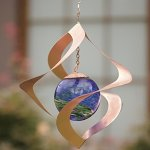 Wind-Weather-KA6729-Glowing-Spiral-Outdoor-Hanging-Spinner-95-Diameter-x-10-H-Copper-Finish-0