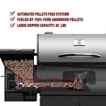 Wood-Pellet-Grill-Smoker-with-Patio-Cover700-Cooking-Area-6-in-1-Electric-Digital-Controls-Grill-for-Outdoor-BBQ-Smoke-Roast-Bake-Braise-and-BBQ-with-Storage-Cabinet-0-2