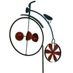 Zeckos-Penny-Farthing-Vintage-Bicycle-Wind-Cup-Pinwheel-Garden-Stake-0