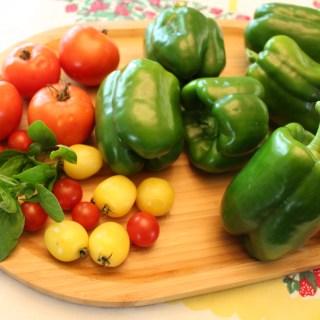 Garden Fresh Stuffed Green Peppers