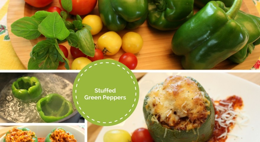Garden Fresh Stuffed Green Peppers — Yeah Summer Foods!