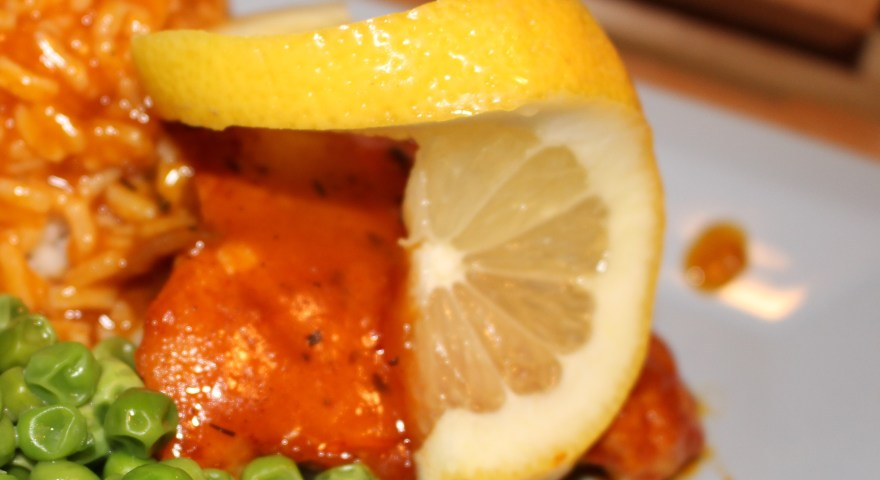 Church Cookbook Classics:  Newlywed Lemon Chicken