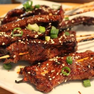 Fall In Love With Korean Honey BBQ Skewers