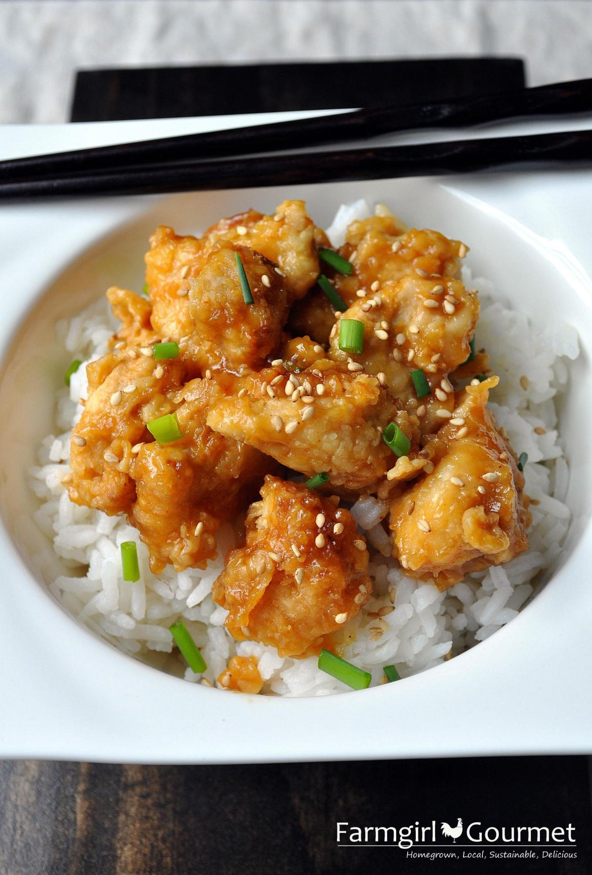 Easy Orange Chicken Recipe