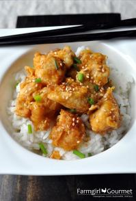 Oven Fried Orange Chicken 2